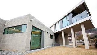 getlinkyoutube.com-[월간전원주택라이프] 전원주택, 양평 철근콘크리트주택_스튜디오 메조