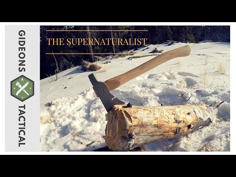 One Powerful Hatchet: Supernaturalist by Hardcore Hammers