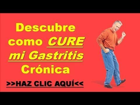 Como Se Cura La Gastritis Cronica - Terapia de Pies