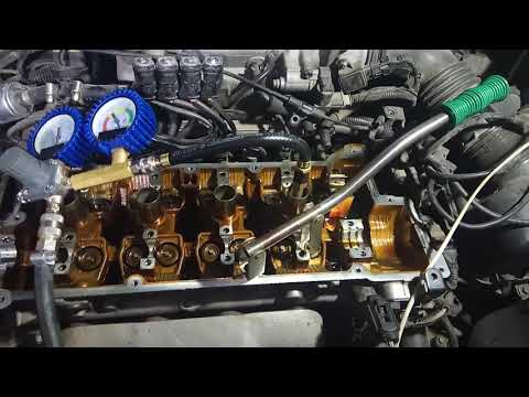 Замена маслосъёмных колпачков на KIA, Hyundai