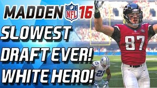 getlinkyoutube.com-WHITE MEN CAN JUMP! BEST UNKNOW RECIEVER! SLOWEST DRAFT! - Madden 16 Ultimate Team
