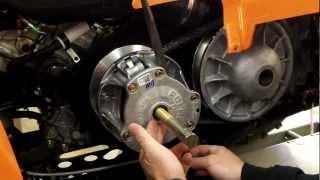 getlinkyoutube.com-EPI Performance Polaris Sportsman Clutch Kit Install