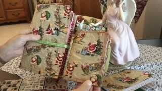getlinkyoutube.com-Christmas Junk Journal made from a 9x12 envelope #junkjournals