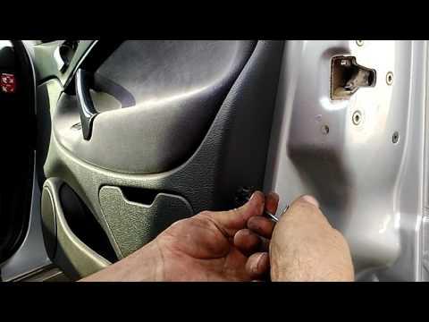 Снять карту двери пассажира ситроен с
