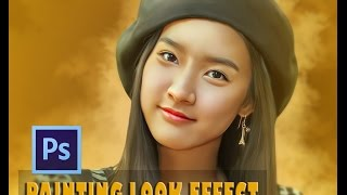 getlinkyoutube.com-Photoshop Smudge Painting Effects  - kim so eun (TUTORIAL)