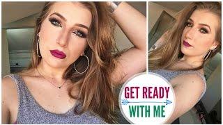 getlinkyoutube.com-GET READY WITH ME ♡