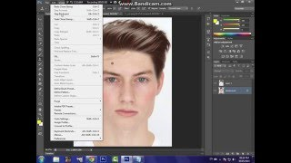 getlinkyoutube.com-كيفية تركيب الشعر مع اكشن Photoshop cs6