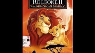 Sequenza vhs Il re leone 2   1998
