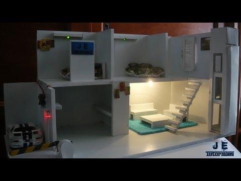 Maqueta de una casa Domótica (Automatizada)