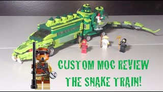 getlinkyoutube.com-Lego Ninjago The Snake Train MOC
