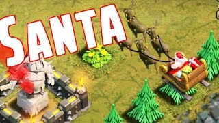 Clash of Clans Spawning Santa, Wall Changes and Hidden Easter Eggs New Update