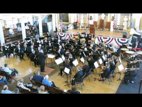 Hanover Wind Symphony performs HWS Silver Jubilee March - newer recording