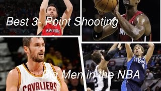 getlinkyoutube.com-Top 10 NBA Big Man 3-Point Shooters HD
