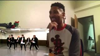 getlinkyoutube.com-BTS (Bangtan Boys) - Run (dance practice) DVhd Reaction!!