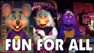 getlinkyoutube.com-Fun For All - Chuck E. Cheese's East Orlando and Tampa