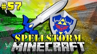getlinkyoutube.com-Das ZELDA MASTER SWORD!? - Minecraft Spellstorm #057 [Deutsch/HD]