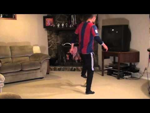 At Home Soccer Skills and Drills: Exercise #5 - Brazilian Roll Backs