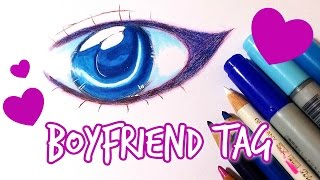 getlinkyoutube.com-♡ My Boyfriend does my drawing TAG (◍•ᴗ•◍)♡