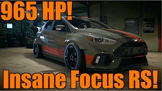 Need For Speed 2015 | INSANE FORD FOCUS RS + Eddie's Career!