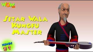Sitar Wala Kungfu Master - Motu Patlu in Hindi WITH ENGLISH, SPANISH & FRENCH SUBTITLES width=