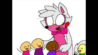 getlinkyoutube.com-A Hístoria de Mangle ( Animation ) Five Nights At Freddy's 2