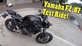 getlinkyoutube.com-Yamaha FZ-07 Review! The Best Beginner Bike?