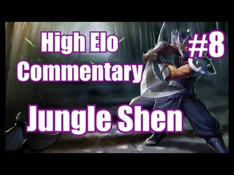 Season 3 | High Elo *LIVE* Commentary #8 | Shen Jungle | League of Legends