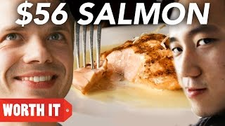 getlinkyoutube.com-$8 Salmon Vs. $56 Salmon