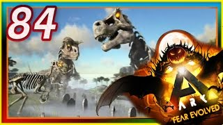 ARK: Survival Evolved - ALPHA SKELETONS / PUMPKIN CARVING - S2E84 ( Modded Gameplay ) Fear Evolved