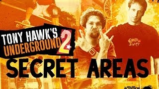 getlinkyoutube.com-Tony Hawk's Underground 2: Secret Areas