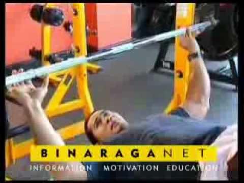 Latihan Decline Barbell Press