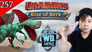 getlinkyoutube.com-New Alpha Speed Stinger   Dragons: Rise of Berk [Episode 257]