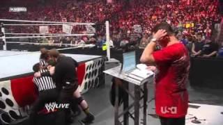 getlinkyoutube.com-WWE RAW 2/28/11 Evan Bourne Returns