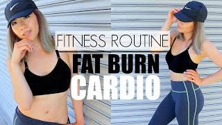 BURN FAT FAST! | 5 Minute At Home Cardio Fat Burning Workout (No Equipment)| Fitness Routine:Part 1