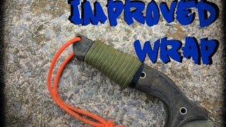 getlinkyoutube.com-IMPROVED Paracord Wrap for SOLID HANDLES