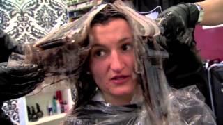 getlinkyoutube.com-Verfärbte Haare ? Gelbstiche Strähnen ?  Sat.1 - Die Farbretter aus Gladbeck