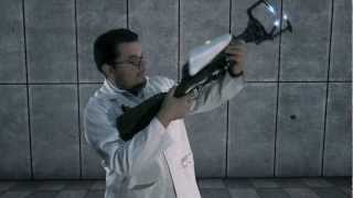 getlinkyoutube.com-Real Life Combustible Lemon Launcher, by Aperture Science! (Original Short)