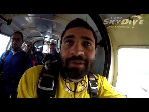 Daniel Iglarsh's Tandem skydive!
