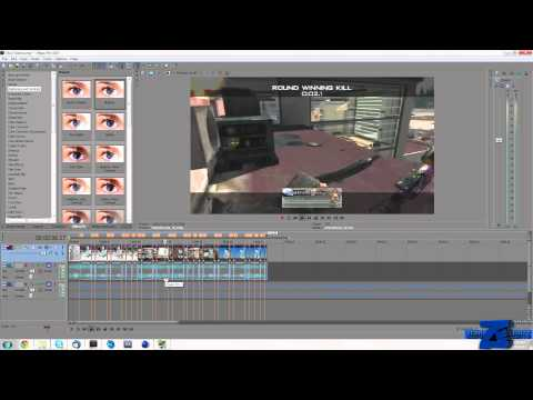 Screen Pump & Flashing With The Beat Tutorial | Sony Vegas