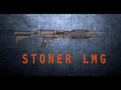 LMG Light Machine Gun (4K Ultra High Definition)