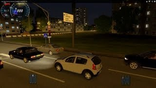 getlinkyoutube.com-City Car Driving Renault Sandero Stepway HD