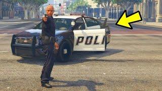 POLICE CAR GLITCH IN GTA 5 ONLINE!