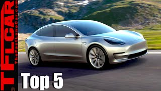 Can't Wait for the Tesla Model 3: Top 5 Electric Cars You Can Buy Today