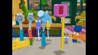 getlinkyoutube.com-Handy Manny School for Tools | Measure Me | Disney Junior