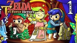 getlinkyoutube.com-THE LEGEND OF ZELDA: TRI FORCE HEROES | PARTE #1 | COMIENZA LA AVENTURA