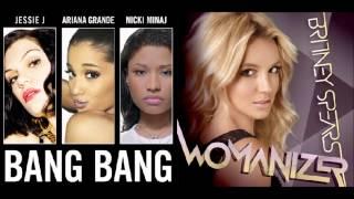 getlinkyoutube.com-Bang Bang Womanizer - Jessie/Ariana/Nicki vs Britney Spears (Mix Mashup)