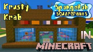getlinkyoutube.com-Minecraft Spongebob: Krusty Krab Tour