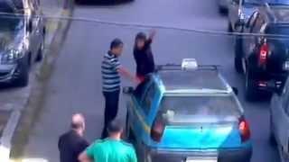 getlinkyoutube.com-Crazy Woman vs Taxi (tanger)  (Raw Wwe)