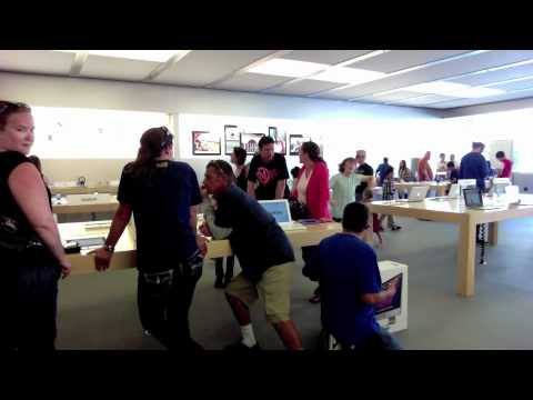 Apple Store Dancer
