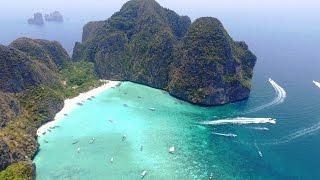 getlinkyoutube.com-Ko Phi Phi Islands, Thailand in 4K Drone, Music Video Remixed